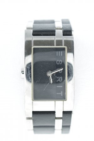 Esprit Uhr mit Metallband schwarz-silberfarben Casual-Look