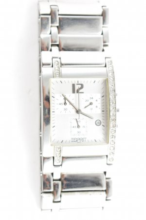 Esprit Watch With Metal Strap silver-colored business style