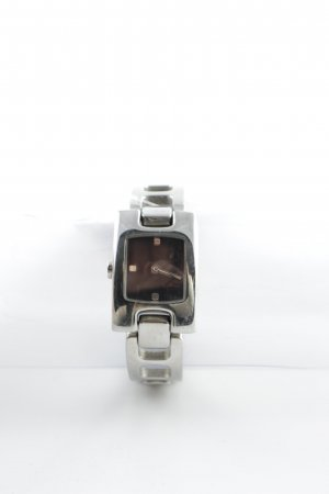 Esprit Watch With Metal Strap silver-colored-black wet-look