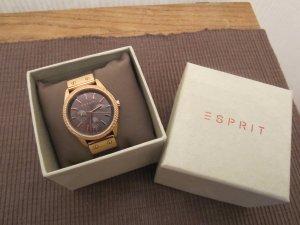 ESPRIT Uhr rosé/ braun, so gut wie NEU!