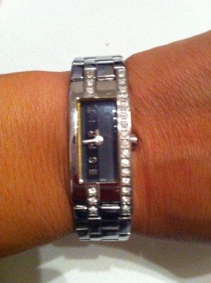 Esprit-Uhr schmal / schwarzes Ziffernblatt