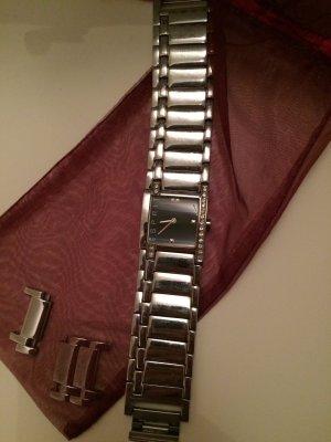 Esprit Uhr strasssteine Silber top