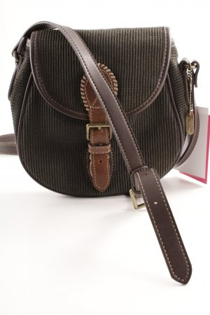 Esprit Crossbody bag dark green-dark brown casual look