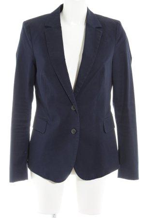 Esprit Blazer unisexe bleu foncé style d'affaires
