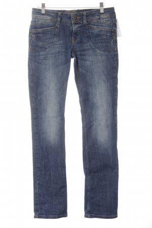 Esprit Urban Casual Straight-Leg Jeans blau Casual-Look