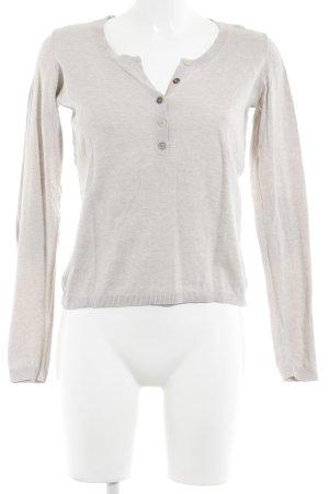Esprit V-Ausschnitt-Pullover beige-hellbraun Casual-Look