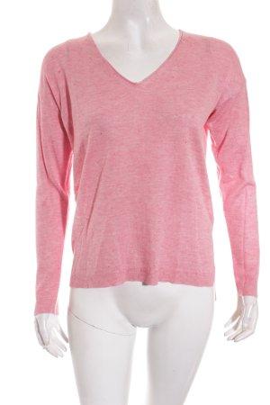 Esprit V-Ausschnitt-Pullover mehrfarbig Casual-Look