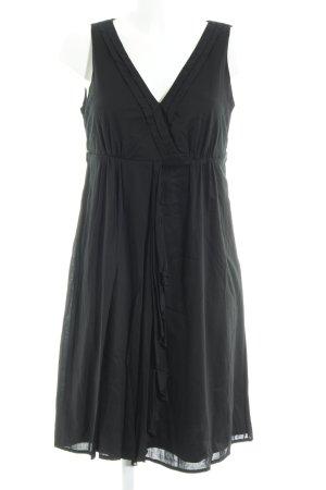 Esprit Vestido estilo flounce negro look casual