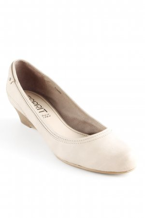 Esprit Wedges Sandaletten camel-creme Casual-Look