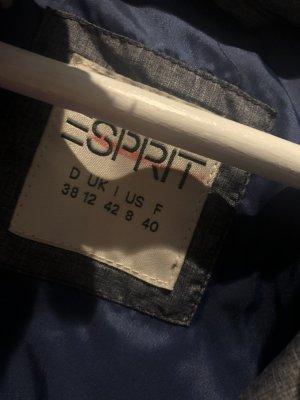 edc by Esprit Gilet en fourrure gris