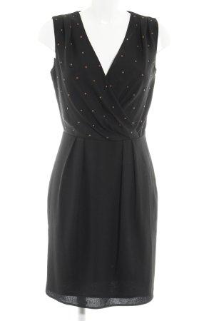 Esprit Robe portefeuille noir style festif
