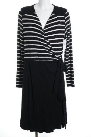 Esprit Wraparound black-white striped pattern casual look
