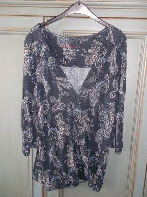 Esprit Wraparound Shirt multicolored viscose