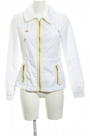 Esprit Windbreaker white-yellow athletic style