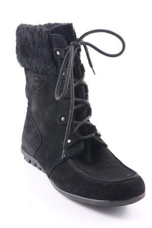 Esprit Korte laarzen zwart casual uitstraling