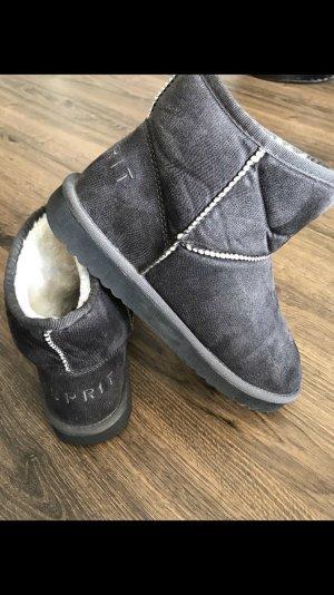 Esprit Ankle Boots dark grey-anthracite