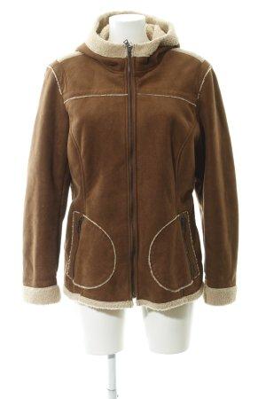 Esprit Winterjacke braun-beige Street-Fashion-Look