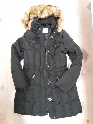 Esprit Winterjacke Daunen Mantel 36 S schwarz Blogger