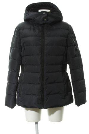 Esprit Winterjacke dunkelblau-schwarz Steppmuster Casual-Look