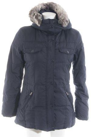 Esprit Winterjacke dunkelblau Steppmuster Casual-Look