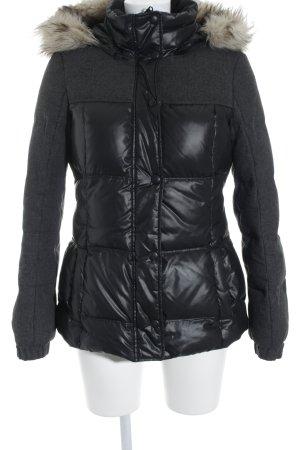 Esprit Winterjacke dunkelgrau-schwarz Casual-Look