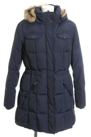 Esprit Abrigo de invierno azul neón look casual
