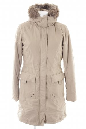 Esprit Wintermantel creme Casual-Look