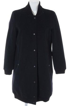 Esprit Manteau d'hiver bleu foncé style décontracté