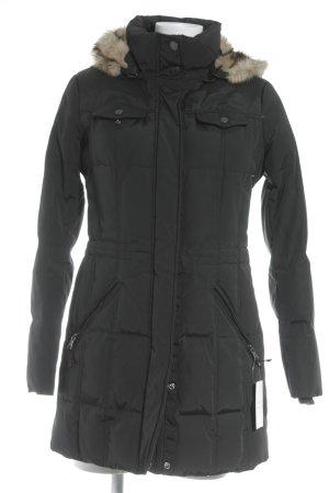 Esprit Abrigo de plumón negro look casual