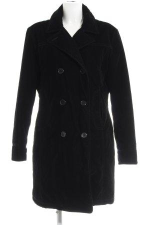 Esprit Wintermantel schwarz-dunkelviolett minimalistischer Stil