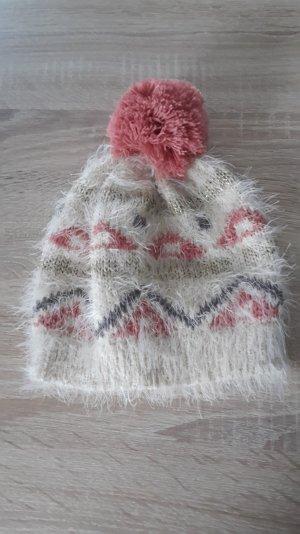 Esprit Wintermütze beige/lachsfarben
