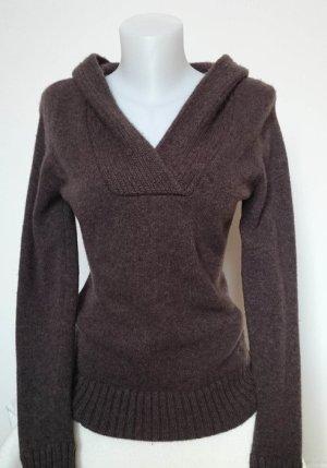 Esprit Jersey con capucha marrón Lana