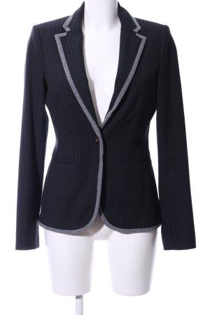 Esprit Woll-Blazer schwarz-hellgrau Business-Look