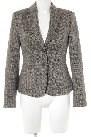 Esprit Woll-Blazer beige-schwarz Business-Look