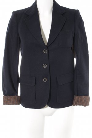 Esprit Wool Blazer dark blue casual look