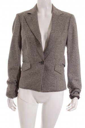 Esprit Wool Blazer dark brown-oatmeal business style