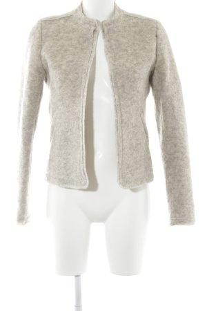 Esprit Woll-Blazer hellbeige Casual-Look