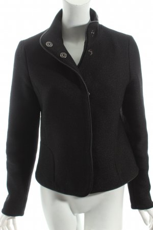 Esprit Woll-Blazer schwarz Street-Fashion-Look