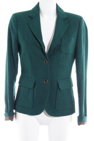 Esprit Woll-Blazer waldgrün Business-Look