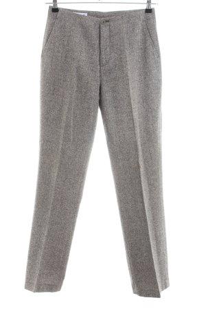 Esprit Woolen Trousers light grey flecked business style