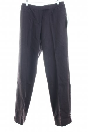 Esprit Wollhose dunkelbraun Business-Look
