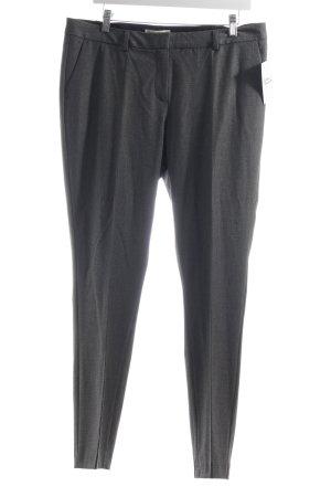 Esprit Wollhose grau-schwarz Hahnentrittmuster Eleganz-Look