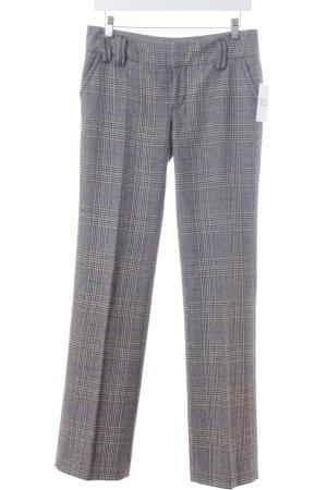 Esprit Pantalon en laine motif à carreaux style décontracté