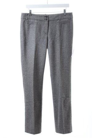 Esprit Wollhose schwarz-weiß Casual-Look