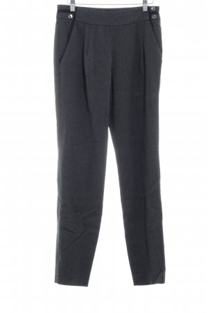 Esprit Pantalon en laine motif en zigzag style d'affaires