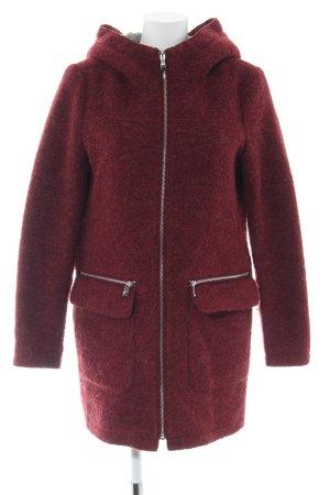Esprit Chaqueta de lana rojo look casual