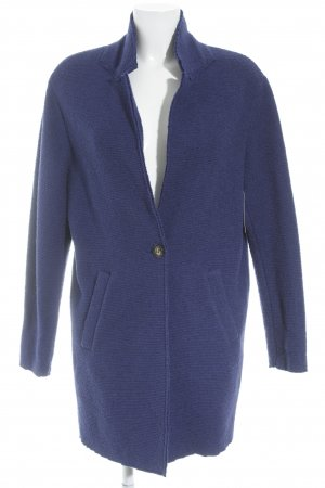 Esprit Wolljacke blau Casual-Look