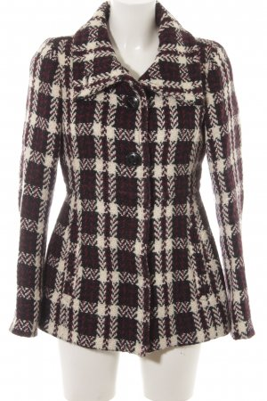 Esprit Wolljacke Glencheckmuster Business-Look