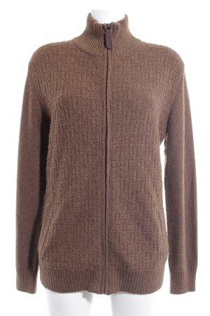 Esprit Giacca di lana marrone chiaro modello web stile country