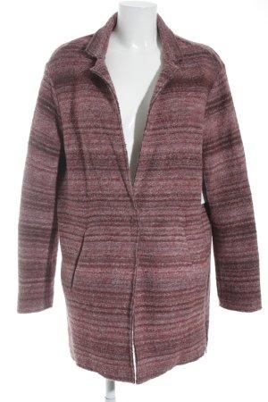 Esprit Wolljacke rosé-violett meliert Casual-Look